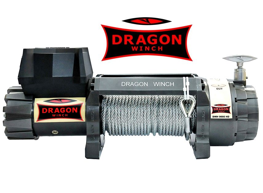 Navijak DRAGONWINCH HIGHLANDER DWH 9000 HD, 12V, NEW